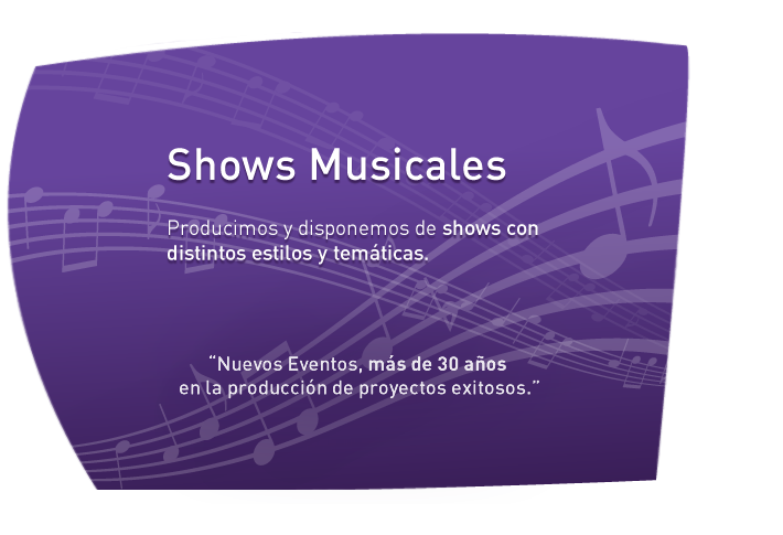Shows Musicales para eventos